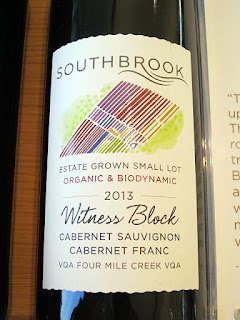 Southbrook Estate Grown Small Lot 'Witness Block' Cabernet Sauvignon / Cabernet Franc 2013 (90 pts)