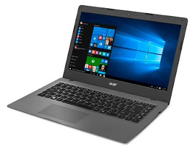 Acer One Cloudbook 2016, vista lateral