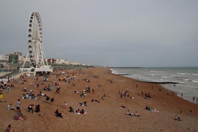 La Playa de Brighton y su Noria