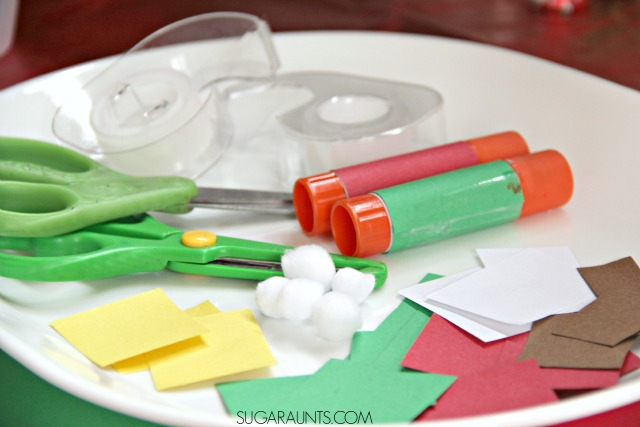 Host a Christmas card making party with family and friends this holiday season with handmade cards, good food and chocolate!