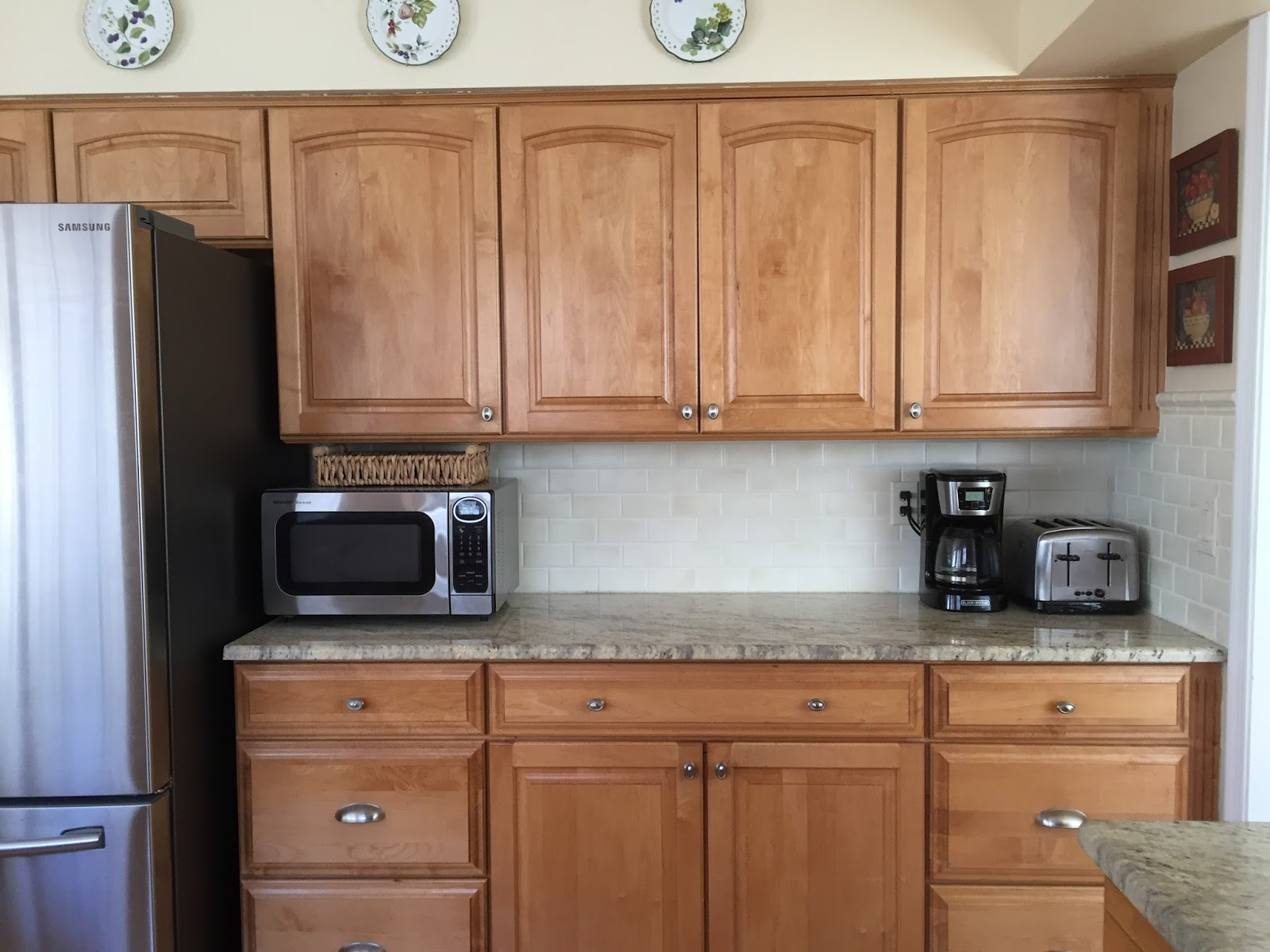C b i d home decor and design refresh your home the - Peach color kitchen ...