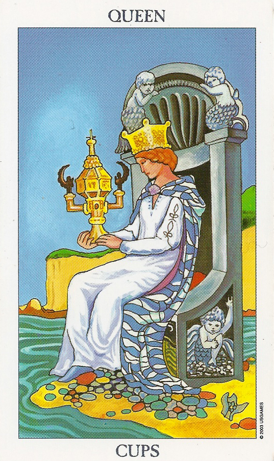 Queen of Cups Pandoras box and emotions  Kundalini Surge