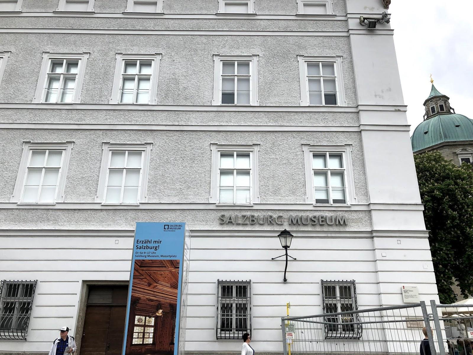 salzburg itinerary Salzburg Museum