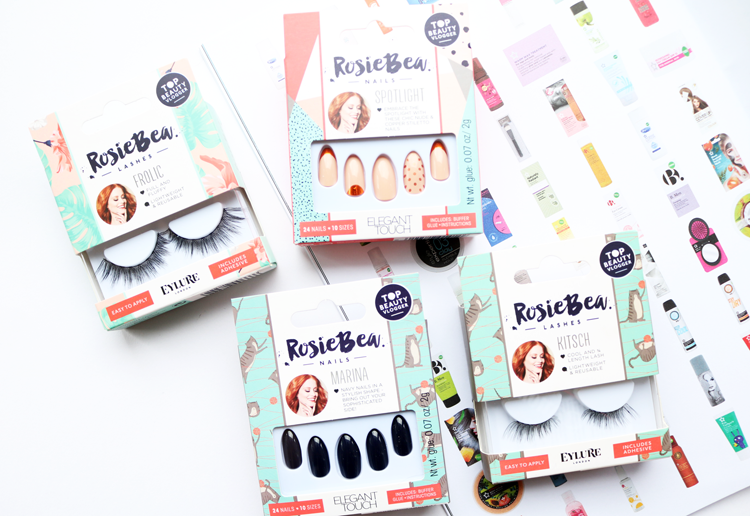 Rosie Bea x Eylure Lashes & Rosie Bea x Elegant Touch Nails review