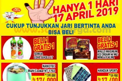 Promo Hypermart  Satu Hari 17 April 2019