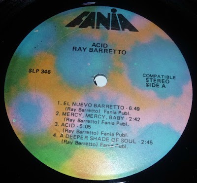 Acid fania label