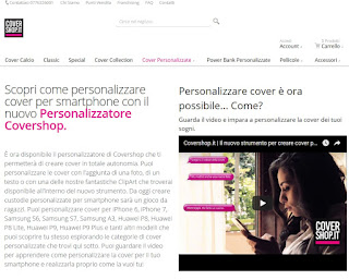 Sito CoverShop