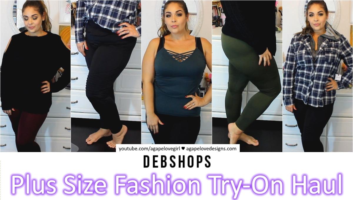 a37f2b88706 Agape Love Designs  DebShops Plus Size Fashion Try On Haul