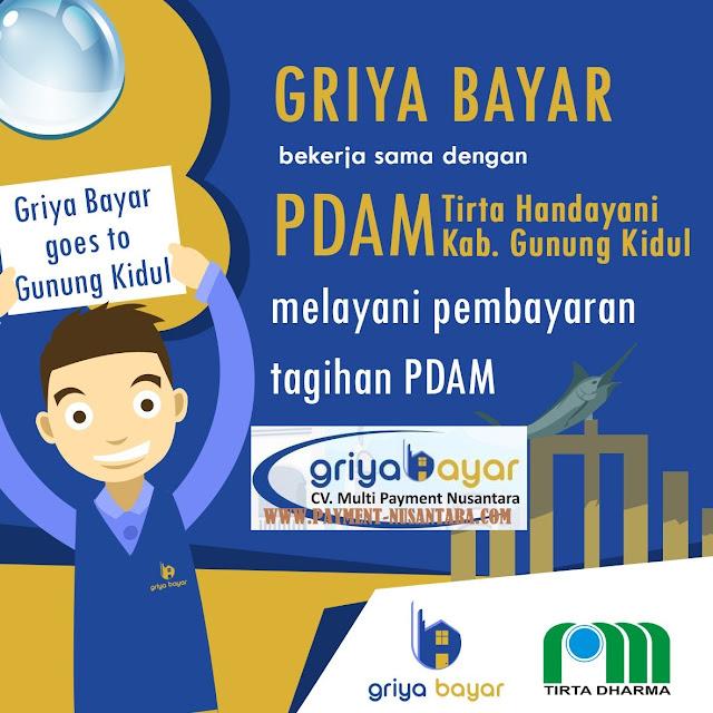 Cara Daftar Griya Bayar PDAM Gunung Kidul Yogyakarta