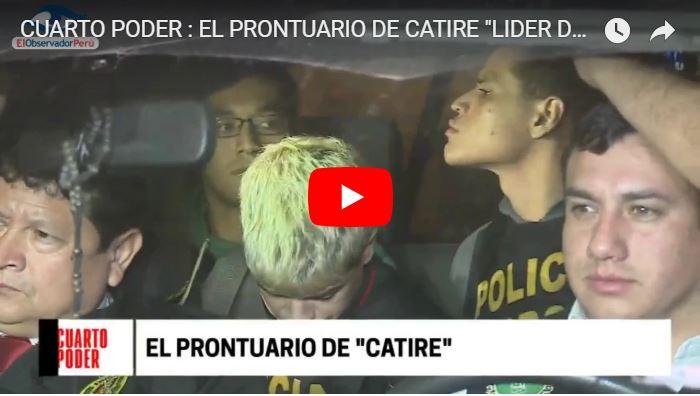 El Catire del tren de Aragua tiene una legión de Fans en Perú