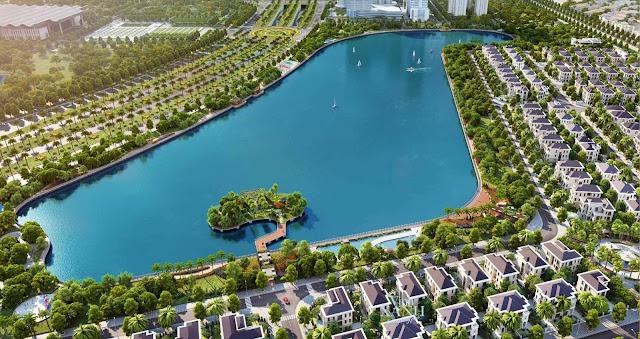 Hồ điều hòa tại chung cư Green park