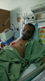 Bantuan pernafasan dari mesin ventilator dengan mask biasa