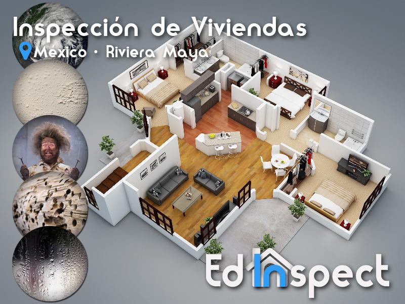 Ed-Inspect - inspeccion de viviendas en la Riviera Maya, Playa del Carmen, Cancun y Tulum