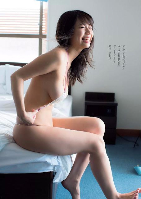 Suzuki Fumina 鈴木ふみ奈 Weekly Playboy No 23 2016 Images 05