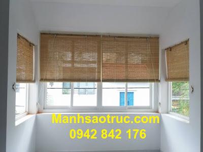 Màn tăm tre treo cửa sổ nội thất