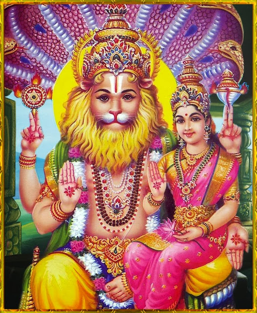 Image result for lord lakshminarasimha