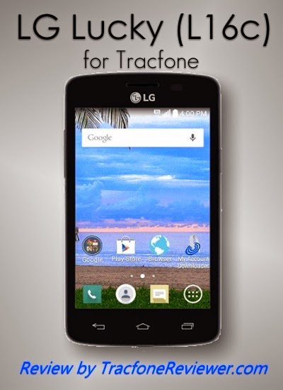 TracfoneReviewer: LG Lucky L16C Tracfone Android Review