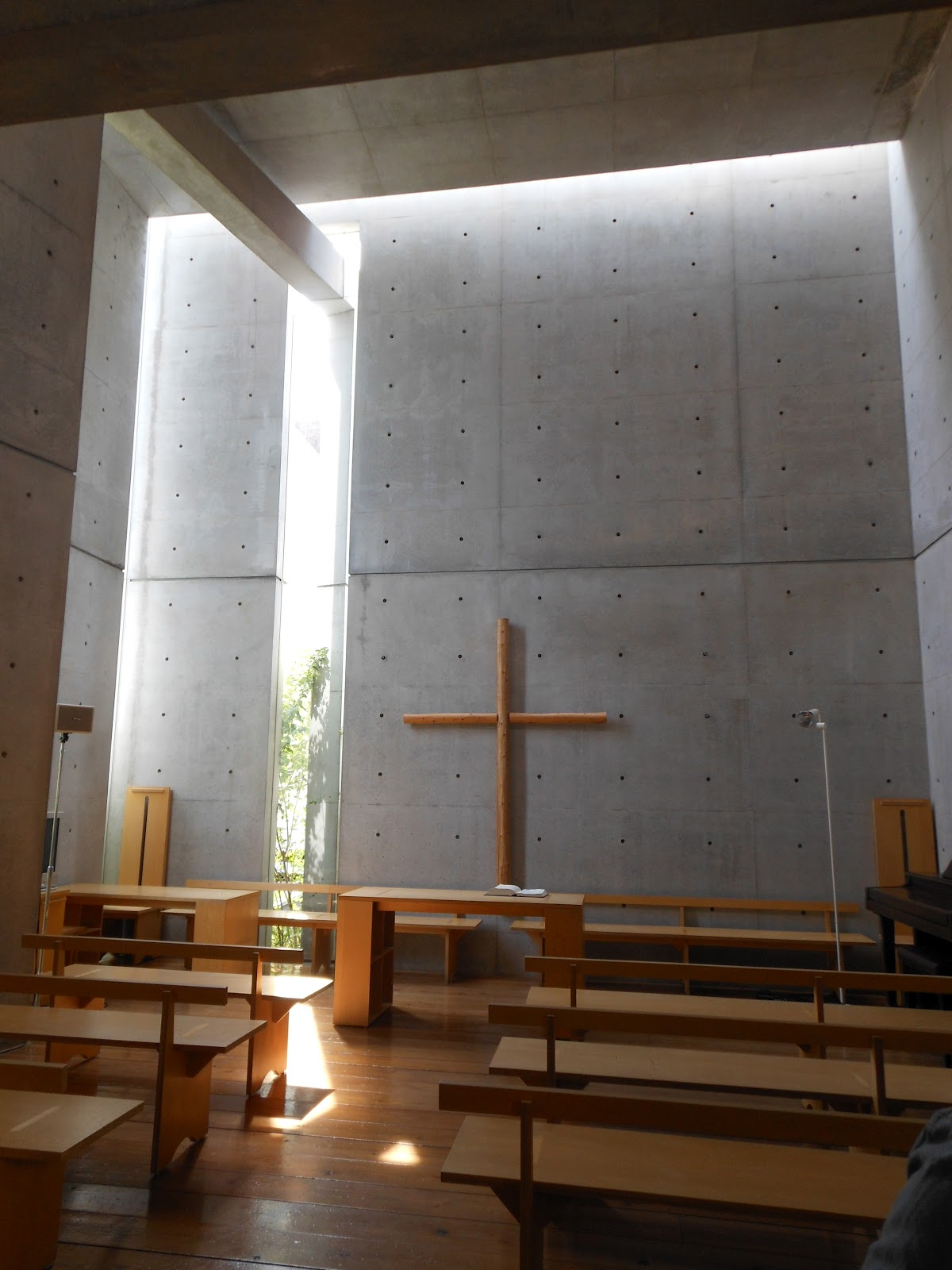 Lr 6 Judy's Japan Journey: Tadao Ando's Church Of The Light