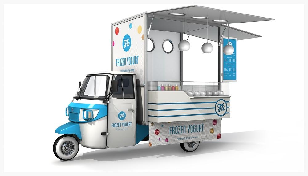 Ide Desain Food Truck Motor Roda Tiga Food Truck Indonesia