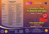 Brosur Pelatihan Orthopedi perawat kamar bedah jakarta 2017