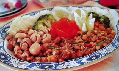 Gambar Resep Tumis Ayam Jamur Lezat
