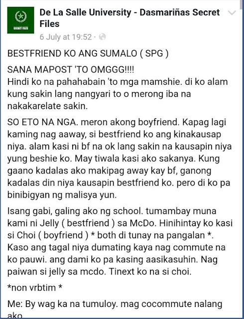 My Ex-Boyfriend Is My BestFriend's FUBU!