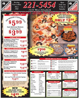 Black Jack Pizza coupons december 2016