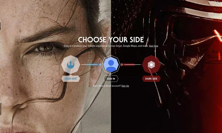 《星際大戰》影迷們看過來!Google推出佈景主題,讓R2-D2帶你導航!