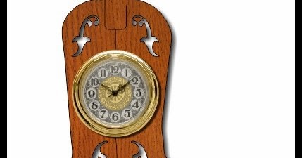 Scrollsaw Workshop Cowboy Boot Clock Scroll Saw Pattern
