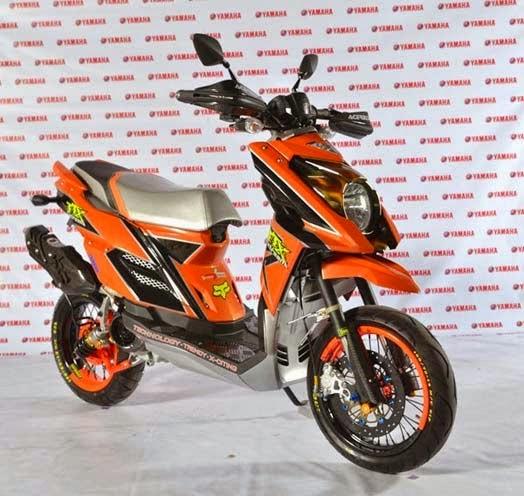 Iplanet Post Modifikasi Motor Yamaha X Ride Keren