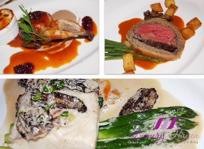 taratata bistrot christmas menu main courses review