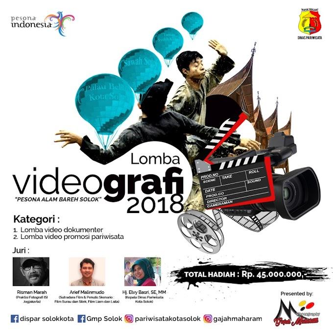 Lomba Videografi 2018 Berhadiah Total 45 Juta !!