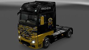 The Minions skin for Mercedes MP4
