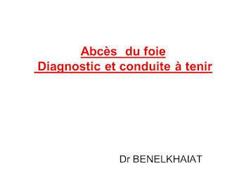 Abcès du foie Diagnostic et conduite à tenir .pdf