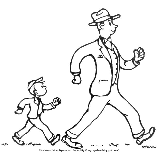 coloring pages walk - photo#2