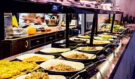 buenos días Roma - Ops! Cocina vegetariana al peso
