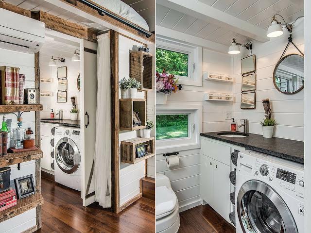 Rumah Yang Menjimatkan Ruang Dan Nampak Unik!