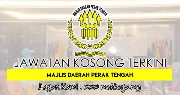 Jawatan Kosong Terkini 2018 di Majlis Daerah Perak Tengah