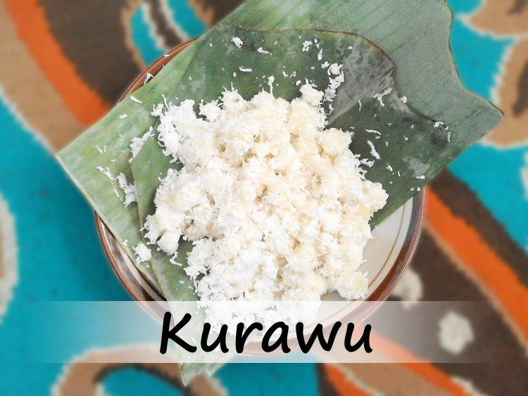 Kurawu, Olahan Nikmat Dari Singkong
