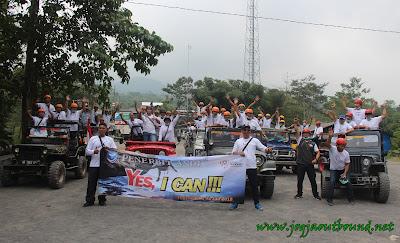 Outbound dan jeep lava Tour Merapi yogyakarta