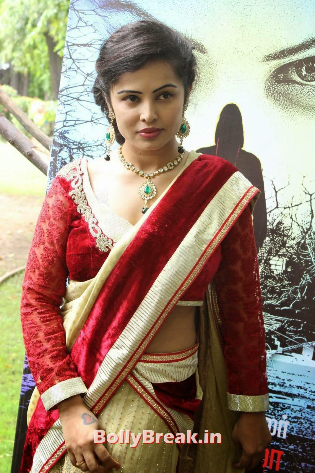 Actress Hashika Dutt Wallpapers, Actress Hashika Dutt hot Pics in low waist saree
