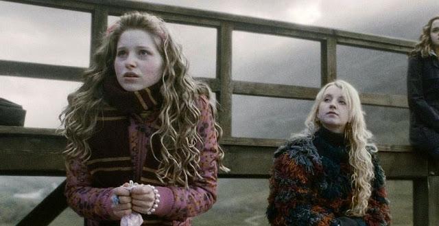 Лавендър Браун и Луна Лъвгуд в Хари Потър и нечистокръвния принц