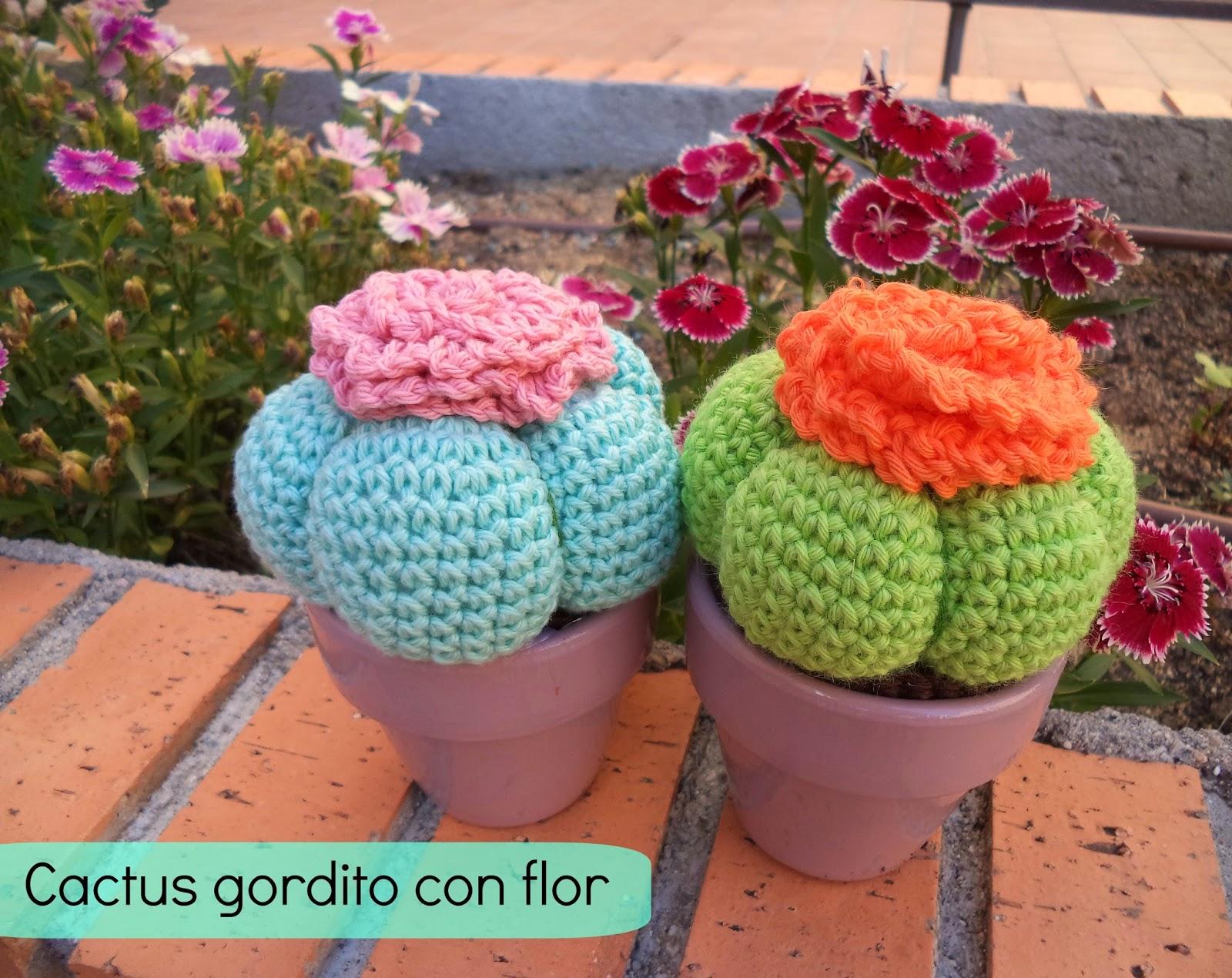 Pasos de como hacer cactus a crochet y otras plantas | Cactus de ... | 1270x1600