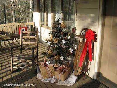 Shabby Tea Party Rose Trellis Angel And Christmas Doors
