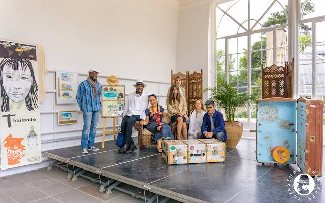 exposition carnet carnets voyage antonia neyrins rencontre atelier scolaire pat masioni