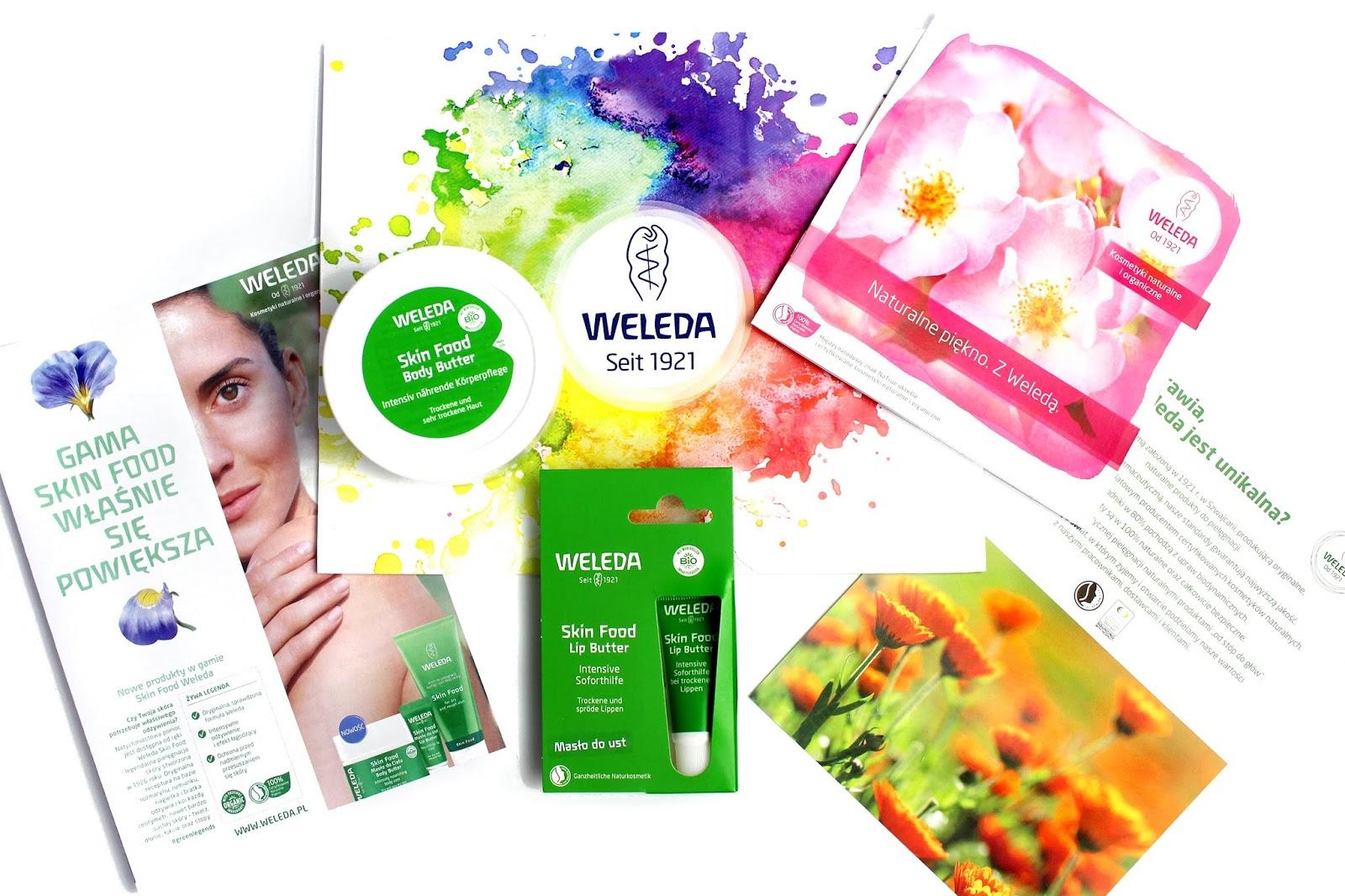 Weleda, Silnie nawilżające kosmetyki z serii Skin Food - masło do ciała oraz balsam ochronny do ust