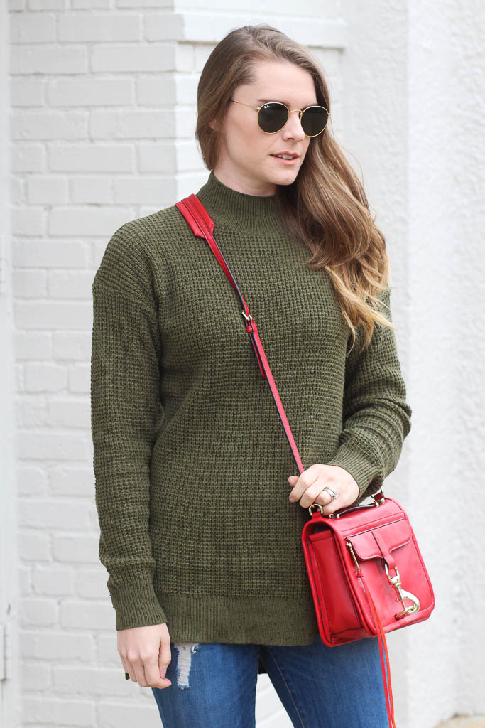 Olive sweaters- Nordstrom