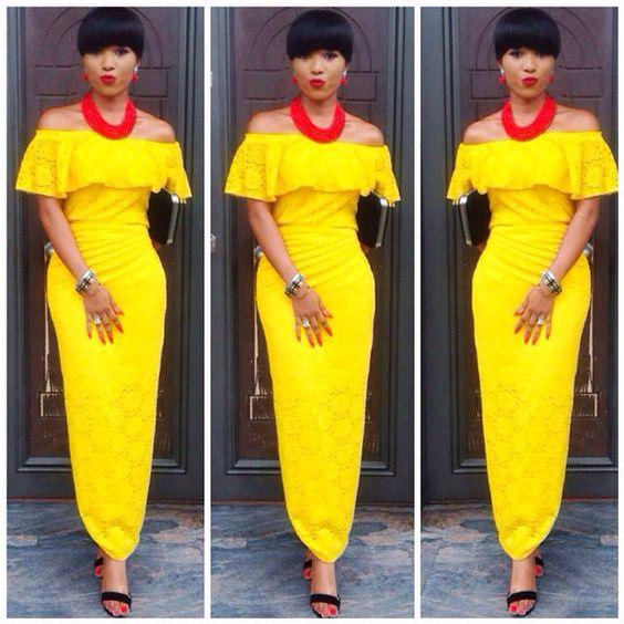 76d2f9372b84f Lovely Iro And Off Shoulder Buba Asoebi Styles For Elegant Women