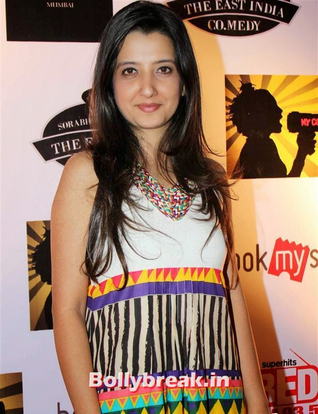 Amy Billimoria, Shruti Seth, Maria Goretti at 4th Annual Ghanta Awards