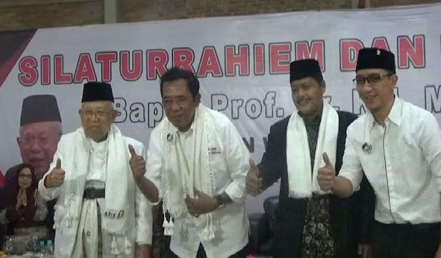Ma'ruf Amin Sebut Jokowi sebagai Santri dari Situbondo